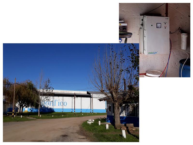 Aguas Electroactivadas. Industria Alimenticia